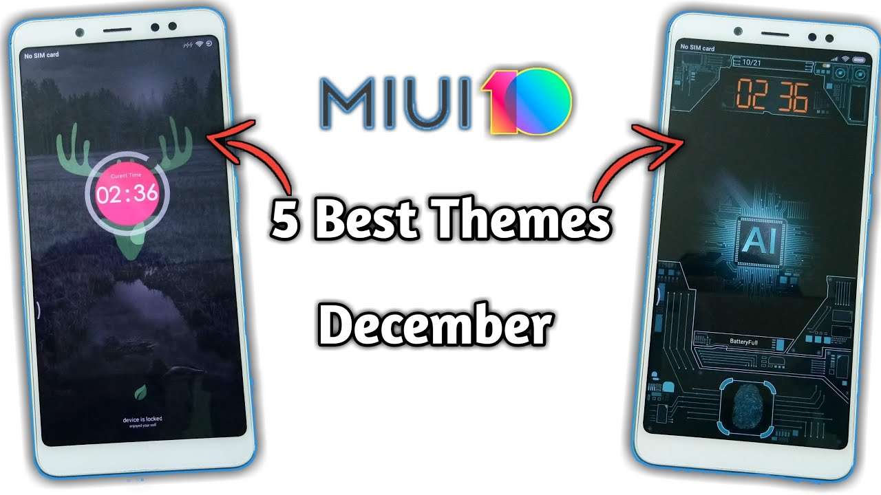 MIUI 10 Theme | Best MIUI 10 Theme 2018 | Themes for MIUI 10 Redmi Note 5  Pro