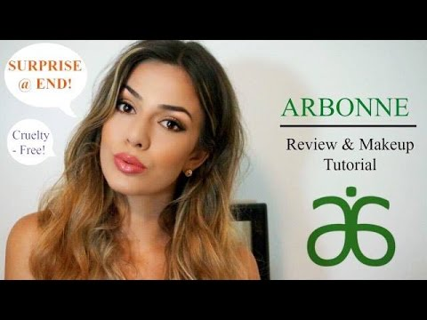 Arbonne Makeup Review & Tutorial   Cruelty Free ♡