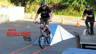 SCOTTY CRANMER TAKES ON THE OBSTACLE COURSE!