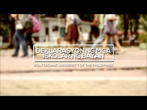 Deklarasyon ng mga Iskolar ng Bayan