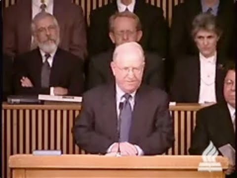 John F. Walvoord Memorial Service - J. Vernon McGee
