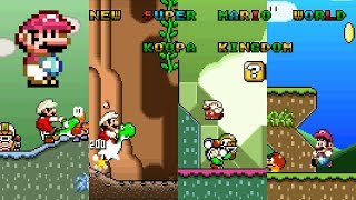 New Super Mario World - Koopa Kingdom