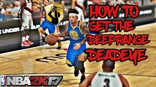 NBA 2K17 BADGE TUTORIAL-HOW TO GET DEEP RANGE DEADEYE IN JUST 3 GAMES