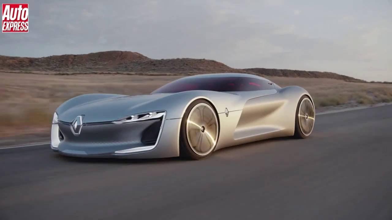 Renault Trezor Concept Pretty Ev Concept Wows Paris 2016