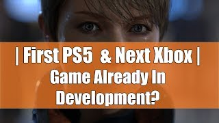First PS5 And Next-Gen Xbox Game Already In Development, Xbox One X Has A Secret You Will Never Know