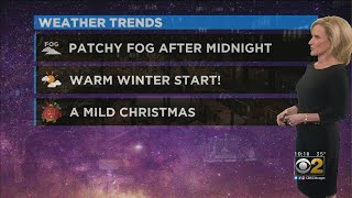 The CBS 2 Weekend Forecast (12-20-19)