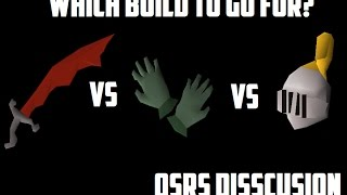 OSRS Discussion: Which build to make? (1 Def vs 13 Def vs 20 Def)