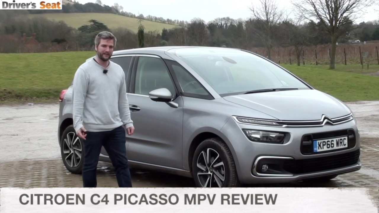 citroen c4 picasso mpv 2017 review driver 39 s seat youtube. Black Bedroom Furniture Sets. Home Design Ideas