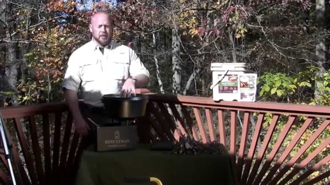 introducing the minuteman rocket stove youtube