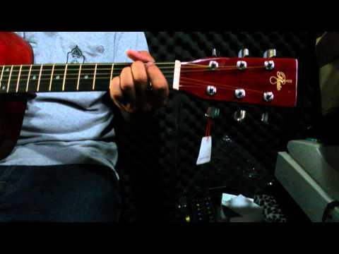 กีต้าร์โปร่ง ตัวเต็ม จัมโบ้ PLATO(GF229) Acoustic Guitar 41นิ้ว สีไม้