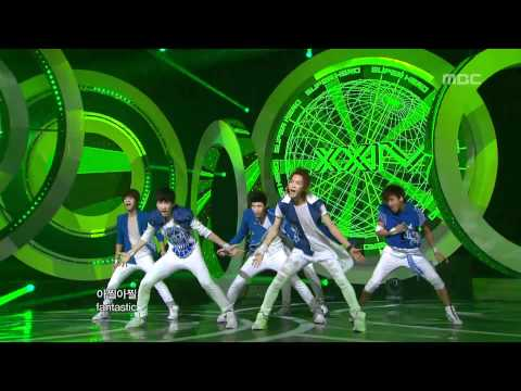 VIXX - Super Hero, 빅스 - 슈퍼히어로, Music Core 20120707