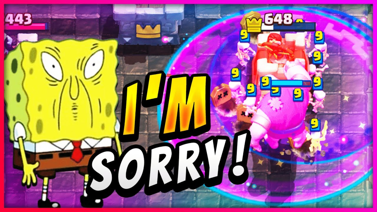PURE OFFENSE! GIANT GRAVEYARD RAGE BREAKS ANY DEFENSE! — Clash Royale