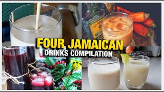 MY TOP FOUR MUST TRY JAMAICAN DRINKS\BEVERAGES RECIPE | HAWT CHEF