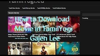 How to Download Movie in TamilYogi ----Tamil (PC)