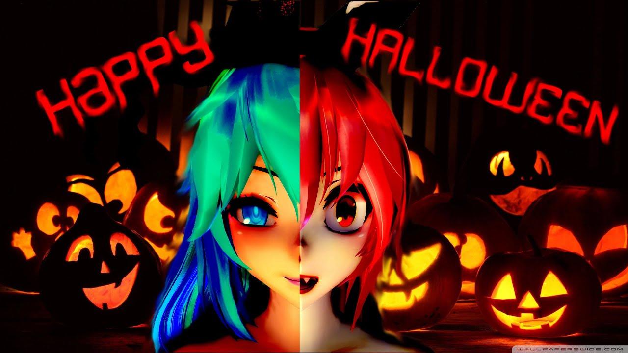 mmd happy halloween models dl gift youtube - Happy Halloween Com