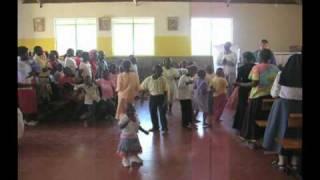 Praise During Mass in a Church in Africa