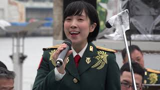 [4K] 花は咲く 鶫真衣 Osaka防衛防災フェスティバル2019 ATC アジア太平...