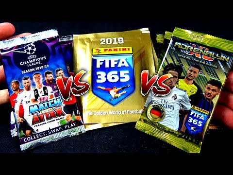 TRIPLE UNBOXING BATTLE! 😱🔥 FIFA 365 2019 vs CL 18/19