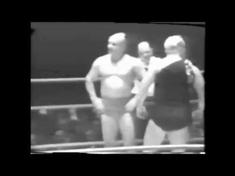 Doc & Mike Gallagher vs. Tony Marino & Pat Flanagan 1950's Buffalo professional wrestling