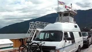 Cable ferry from Fauquier to Needles, BC