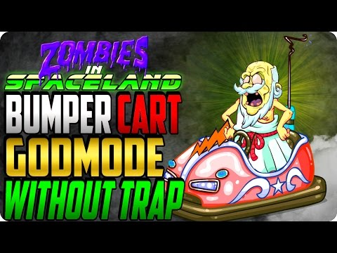Zombies In Spaceland Glitches: New Bumper Cart GodMode Without Souvenir Traps - Cod IW Zombies