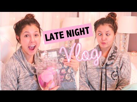 Late Night Vlog! Decor, Coffee & Walking Dead! + Mini Haul!