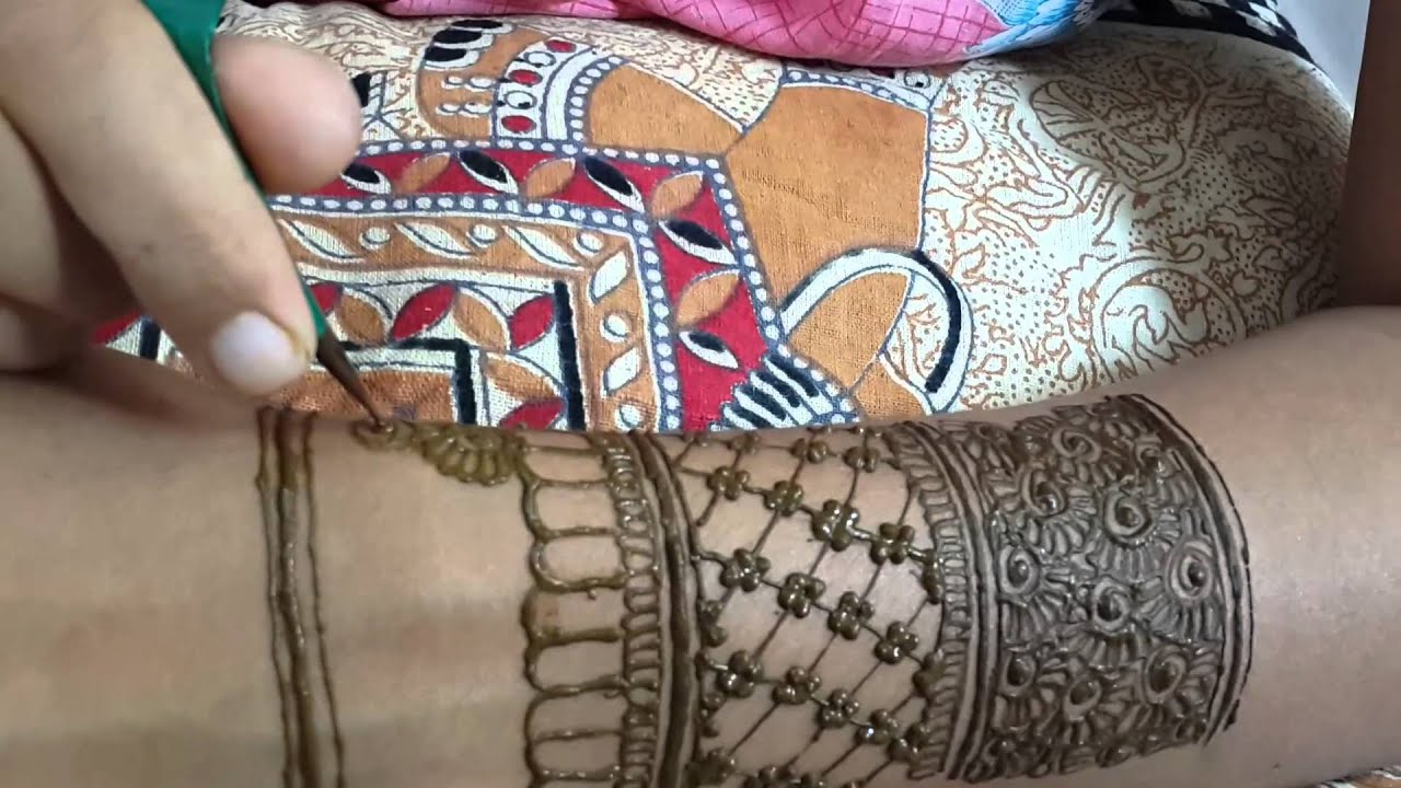 Mehndi Bridal Back Side : Easy full hand bridal mehndi for back youtube