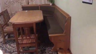 видео Кухонный стол своими руками: как сделать, чертежи, варианты