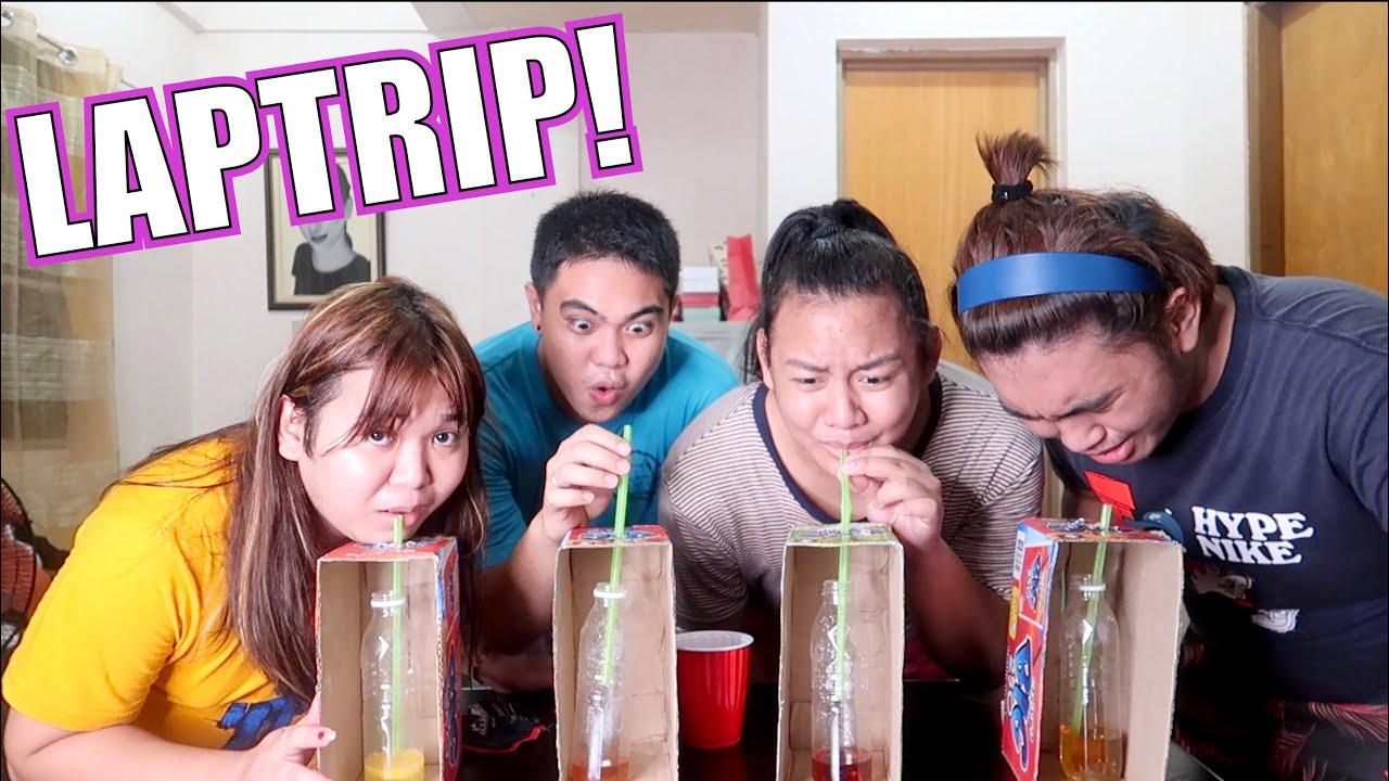 DON'T CHOOSE THE WRONG MYSTERY  DRINK! (NAKAKASUKA!) FT. Aye Ramalla & Kenneth MAANGAS!