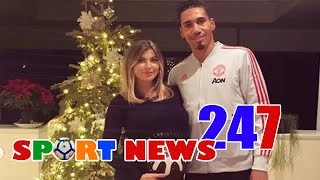 Smalling set to become a father as wife Sam Cooke reveals baby bump