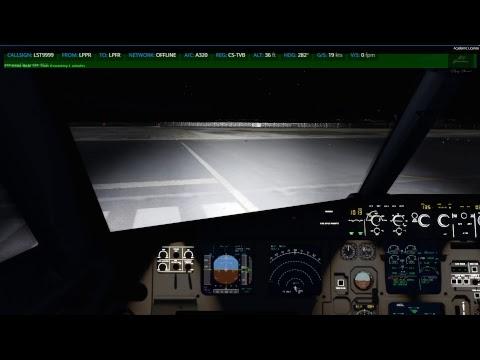 Prepar3D v4 1 / BBS A320 Testing the Demo