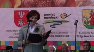 Starosta Moniecki Joanna Kulikowska - Dożynki Wojewódzkie 2011