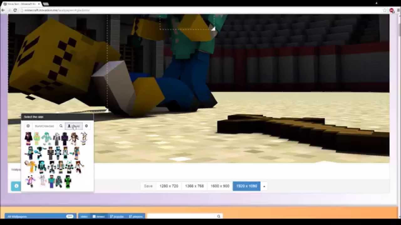 Tuto Comment Faire Un Wallpaper De Minecraft Pour Miniatures De Vidéos Ou Fond Décran Stylé