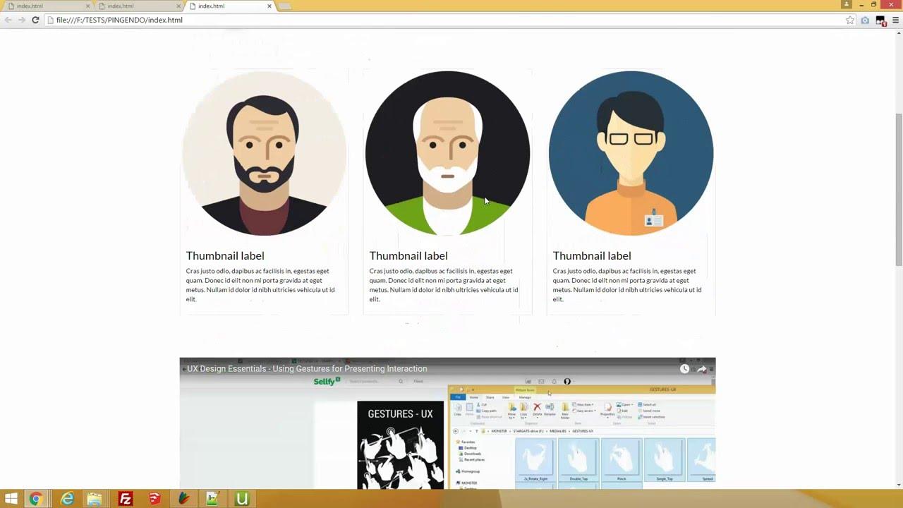 Pingendo Tutorial - Bootstrap Editor - Essential Training