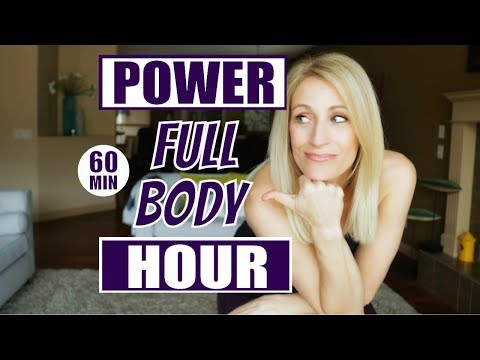 POWER HOUR Full Body Workout | Fat Burning Workout With Weights