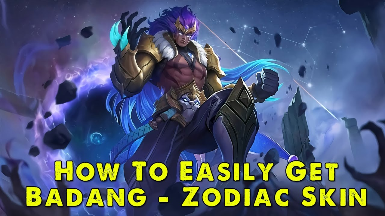 mobile legends | badang zodiac skin leo | strength is
