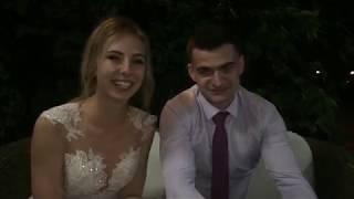 Видео отзыв. Свадьба Анастасия и Владимир 1.09.2017