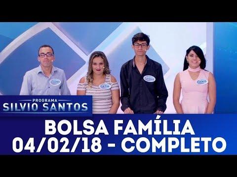 Bolsa Família - Completo | Programa Silvio Santos (04/02/18)