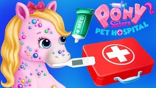 Fun Animal Horse Care Games - Cute Little Pony Vet Pet Hospital Makeover App For Kids