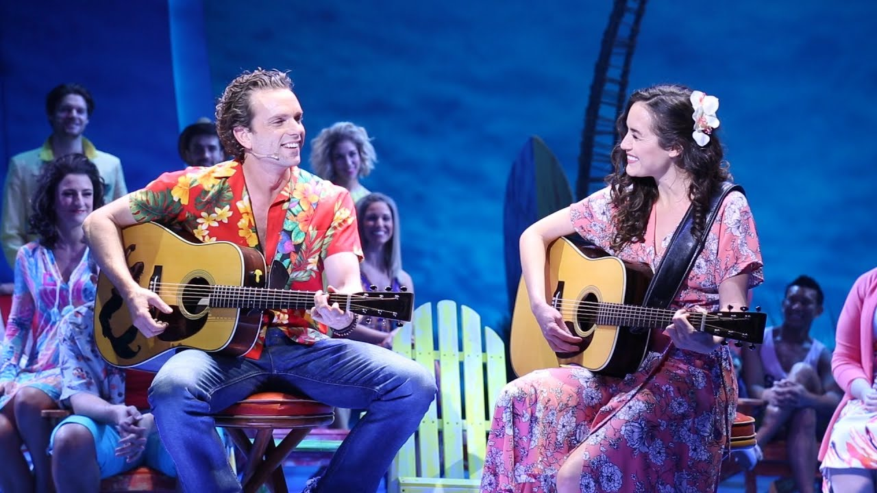 Review: Escape to Margaritaville  Jimmy Buffett songs in a