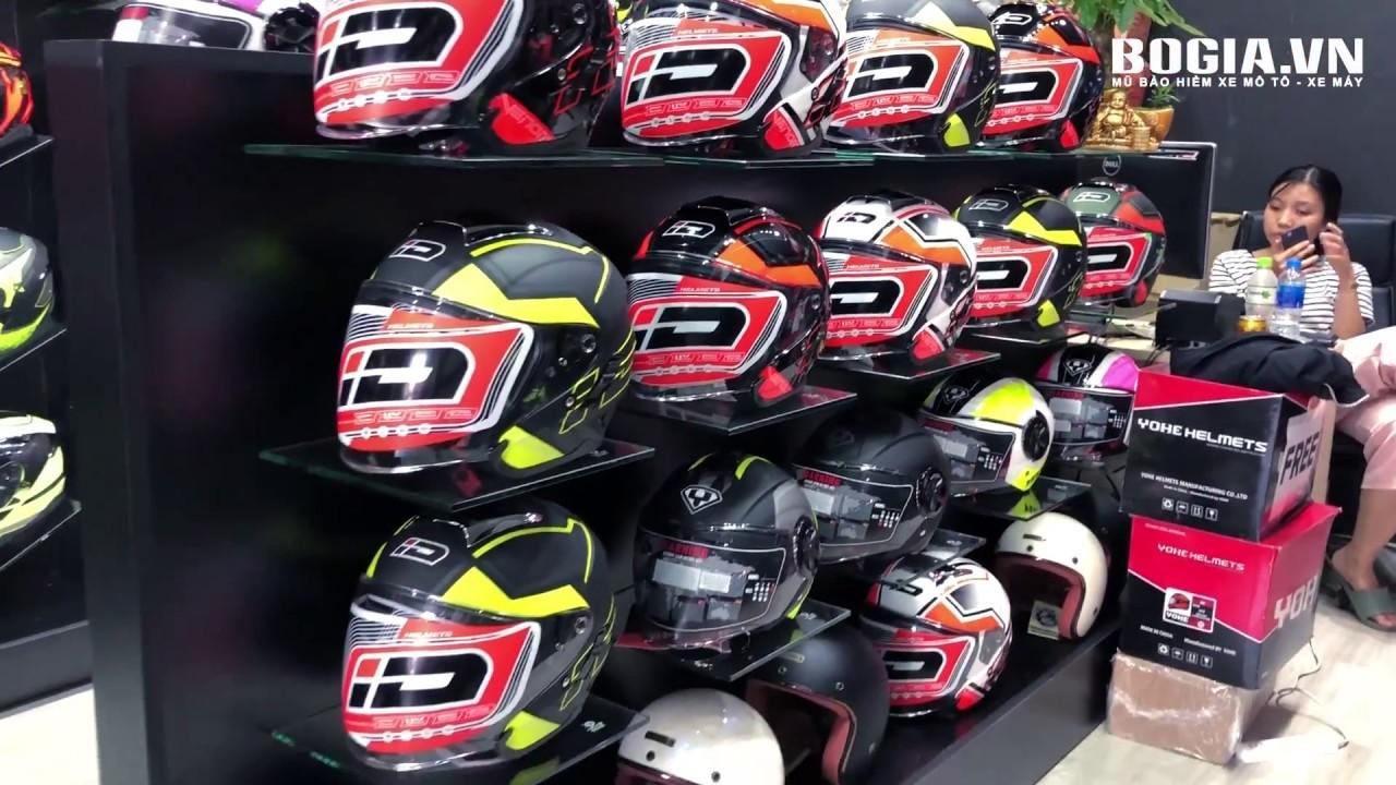 BO GIA SHOP – Cửa hàng mua bán mũ – nón bảo hiểm mô tô – xe máy uy tín, lớn nhất Quận Gò vấp, Tphcm