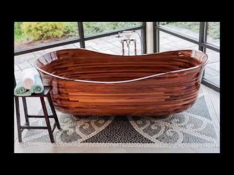 Custom Wood Bathtub