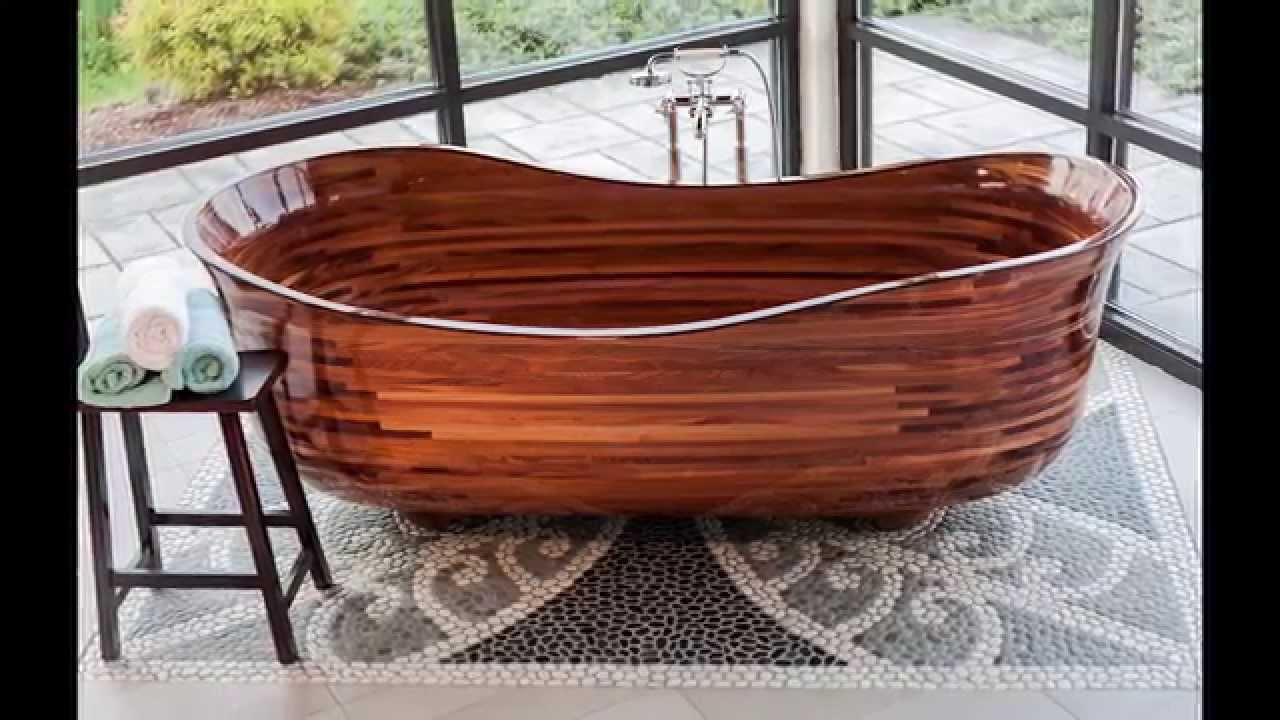 Perfect Custom Wood Bathtub   YouTube