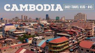 SCENIC DAY In Cambodia: Phnom Penh Riverside Adventure!