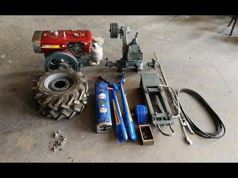 Walking Tractor / Power Tiller Chassis Assembling