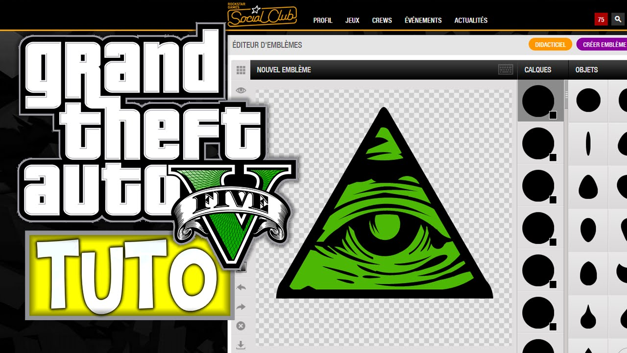 creation logo crew gta 5