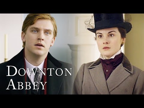Matthew Meets Mary For The First Time | Downton Abbey