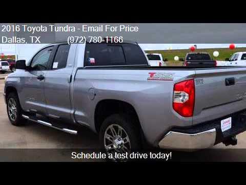 2016 Toyota Tundra Sr5 4x2 4dr Double Cab Pickup Sb 4 6l V8 Youtube
