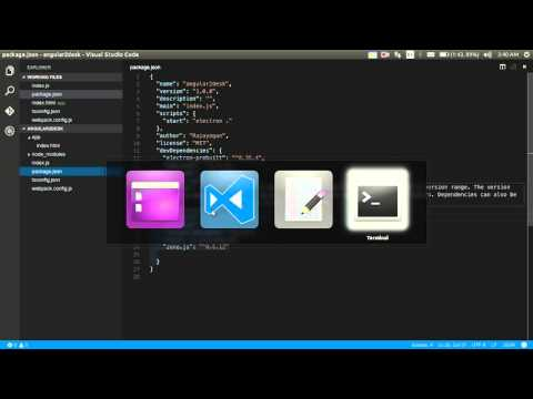 Creating desktop apps with Angular 2 and Electron.