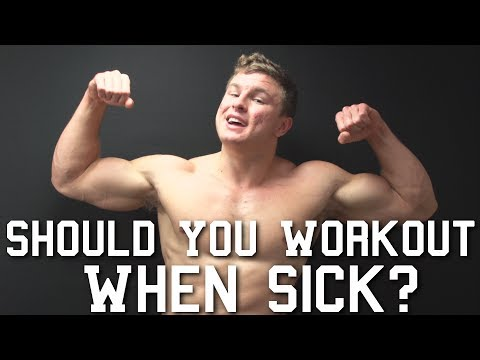 should-i-workout-when-sick?